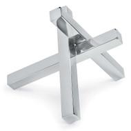 Regina Andrew Intersecting Sculpture - Nickel (Store)