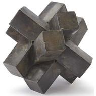 Regina Andrew Abstract Zinc Sculpture (Store)