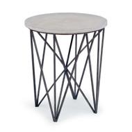 Regina Andrew Cecil Accent Table - Blackened Iron (Store)