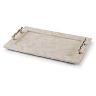 Regina Andrew Bone Tray With Bamboo Handles - #1 (Store)