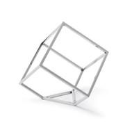 Regina Andrew Open Standing Cube - Nickel (Store)