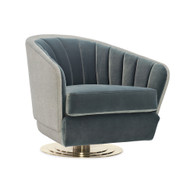 Caracole Concentric Swivel Chair