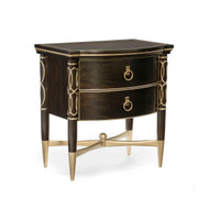 Caracole Everly Nightstand - Wood Front - Large
