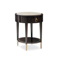 Caracole Everly Round Side Table - Wood