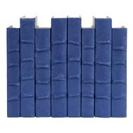 E Lawrence Dungaree Blue Parchment Bound Books