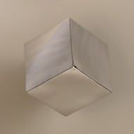 Tumbling Block Wall Cube - Stainless Steel