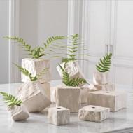 Rocky Block Vase - Square - Sm