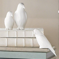 Book Bird - Matte White - Lg