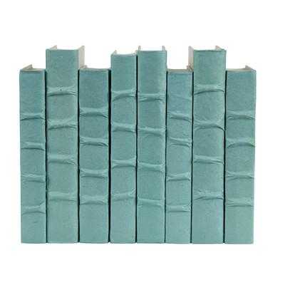 E Lawrence Robin'S Egg Blue Parchment Bound Books