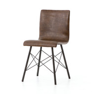 Four Hands Diaw Dining Chair - Distressed Brown
