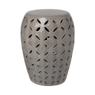 Lattice Stool - Gray