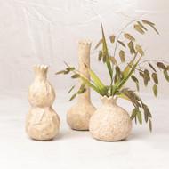 Global Views Alma Vase - Cream - Sm (Store)