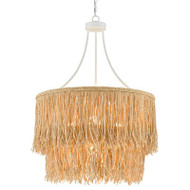 Currey & Co Samoa Two-Tiered Chandelier (Store)