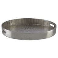 Currey & Co Luca Silver Large Tray (Store)