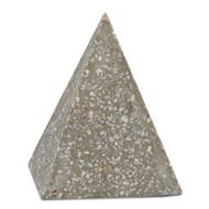 Currey & Co Abalone Small Concrete Pyramid (Store)