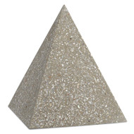 Currey & Co Abalone Large Concrete Pyramid (Store)