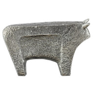Currey & Co Sampson Silver Large Bull (Store)
