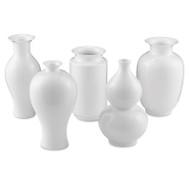 Currey & Co Imperial White Medium Vase Set (Store)