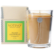 Votivo 16.2 oz Aromatic Large Candle Island Grapefruit