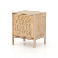 Four Hands Sydney Nightstand - Natural Mango - Natural Cane