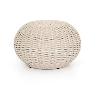 Four Hands Phoenix Outdoor Accent Stool - Natural Rope