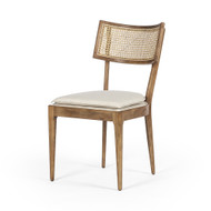 Four Hands Britt Dining Chair - Toasted Nettlewood
