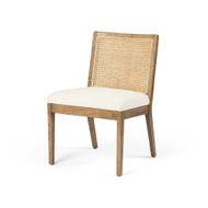 Four Hands Antonia Cane Armless Dining Chair - Toasted Nettlewood