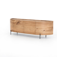 Four Hands Lunas Media Console - Gold Guanacaste