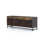 Four Hands Stormy Media Console - Aged Brown