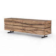 Four Hands Este Media Console - Rustic Oak