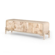 Four Hands Wiley Media Console - Bleached Burl