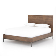 Four Hands Trey Bed - Queen - Auburn Poplar
