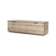 Four Hands Dillon Trunk - Weathered Salvage Grey