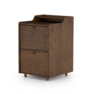 Four Hands Moreau Filing Cabinet - Dark Toasted Oak