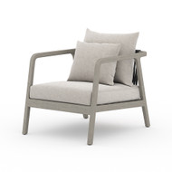 Four Hands Numa Outdoor Chair - Weathered Grey - Stone Grey