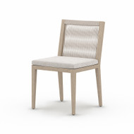 Four Hands Sherwood Outdoor Dining Chair, Washed Brown - Stone Grey