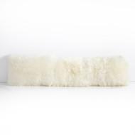 Four Hands Lalo Lambskin Lumbar Pillow, Single