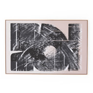 Four Hands Abstract Block By Coup D'Esprit