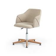 Four Hands Edna Desk Chair - Fedora Oatmeal