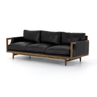 "Four Hands Stanley Sofa - 91"" - Sonoma Black"