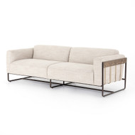 "Four Hands Ella Sofa - 91"" - Gable Taupe"