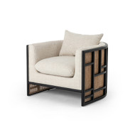 Four Hands June Chair - Brushed Ebony