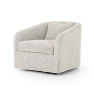 Four Hands Topanga Swivel Chair - Knoll Domino