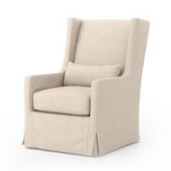 Four Hands Swivel Wing Chair - Jette Linen