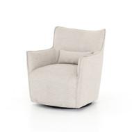 Four Hands Kimble Swivel Chair - Noble Platinum