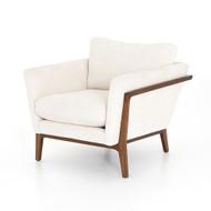 Four Hands Dash Chair - Camargue Cream/Pecan