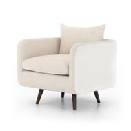 Four Hands Kaya Swivel Chair - Savile Flax