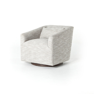 Four Hands York Swivel Chair - Monterry Pebble