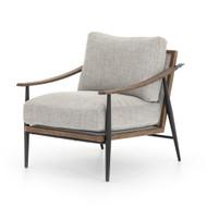 Four Hands Kennedy Chair - Gabardine Grey