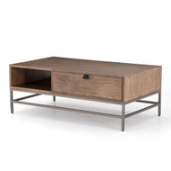 Four Hands Trey Coffee Table - Auburn Poplar